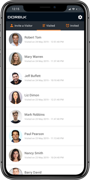 Host app for guest check-in